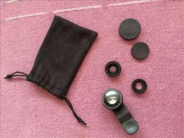 Prodajem fisheye lens na telefon