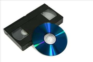 Prebacivanje VHS i VHS-C na DVD