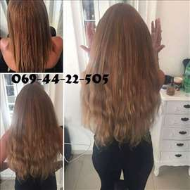 Prodaja prirodne kose i nadogradnja kose