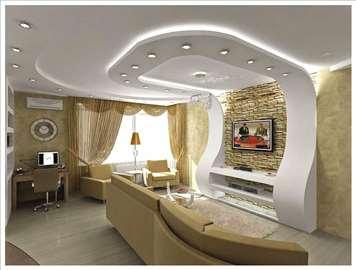 Dekorativni radovi - plafoni, zidovi, rasveta