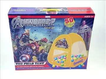 Šator Avengers za decu - novo