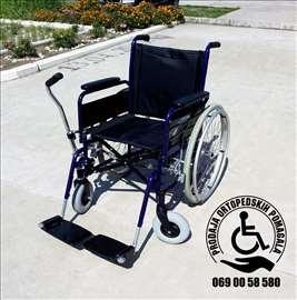 Invalidska kolica sa pognom na polugu Vermiren