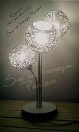 Lampa od kanapa - ručni rad