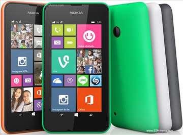 Lumia 530 maska zelena