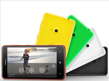 Lumia 625 maska zelena