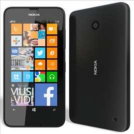 Lumia 630 maska, crna
