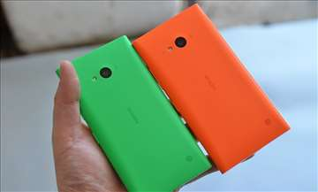 Lumia 730/735 maska zelena