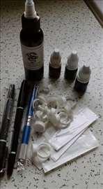 Prodajem set Japanska metoda obrva,uvoz,Permanent