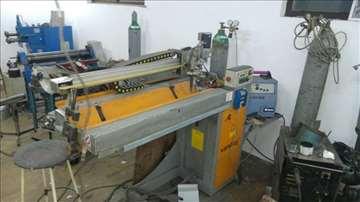 Stroj za izradu čeličnih i inox dimovoda