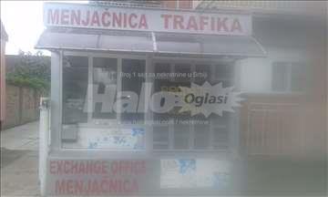 Kiosk i menjacnica