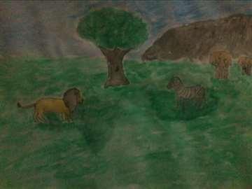 Lav, zebra i slonovi