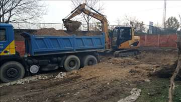 Iskop zemlje, rušenje i odvoz, prevoz materijala
