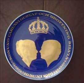 Ukrasni tanjir od kobalta