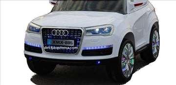 Audi Q7 XMX na akumulator 12V sa daljinskim Beli