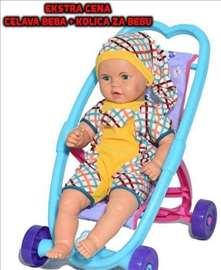 Lutka ćelava beba