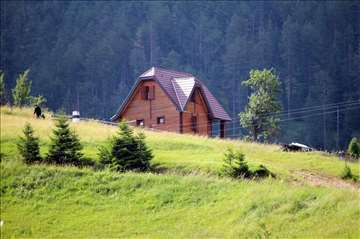 Planinsko selo, Zaovine na Tari, kuća za odmor