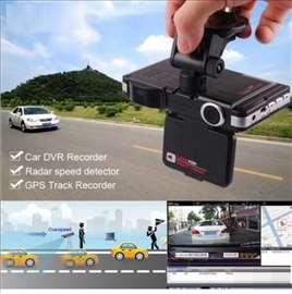 3u1 Auto kamera DVR+ GPS+ radar detektor
