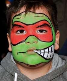 Face painting - crtanje po licu