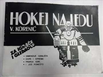 Knjiga:Hokej 1988.god.,B4 format,91 str.,srp..