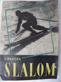 Knjiga: Slalom 1952.god., A 5 format, 88 str.,srp.