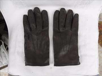 Muške rukavice kožne sa uloškom,nove