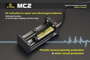 Xtar MC2 punjač baterija ORIGINAL