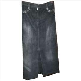 Atraktivna somot suknja sa cirkonima sl. 10