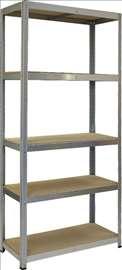Metalne montažne police 180x90x45-novo