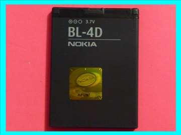 Original  Baterija za Nokiu Li-jon  BL-4D 3,7 V