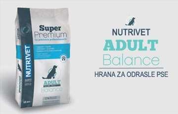 Nutrivet Super Premium Adult Balance: hrana za pse