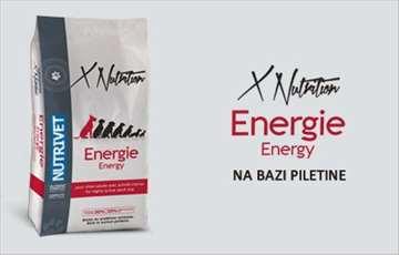 Nutrivet X-Nutrition Energy - hrana za pse