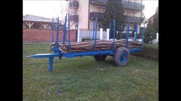 Prikolica drvarka