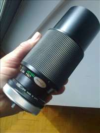 Zum objektiv Vivitar FD 75/205/4.5 za Canon