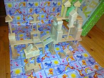 Drvene igračke za decu-drvene kocke za decu