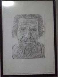 Portret starijeg čoveka