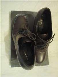 Cipele na pertlanje, kožne gležnjače