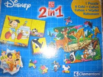 Clementoni puzzle bambi