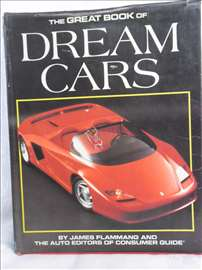Knjiga: The Great Book of Dream Cars ,1990. god.