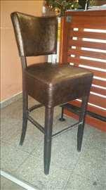Stolice kožne za kafiće