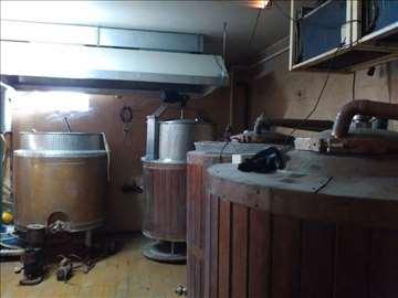 Pivara kapaciteta 530l - rentiranje