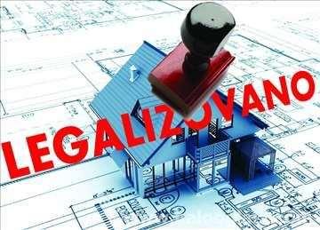 Projektovanje, legalizacija - ozakonjenje objekata