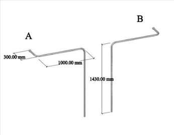 Štenderi zidni i plafonski