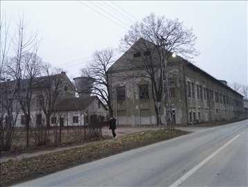 zgrade i zemljište bivšeg Trikoteksa