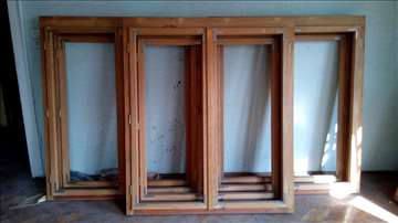 Drveni prozori i vrata, sve za 200 evra