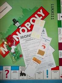 Monopol na srpskom  sa srpskim ulicama