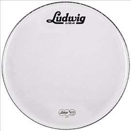 "Ludwig LW4220V 22"", reklamna plastika za bas buban"