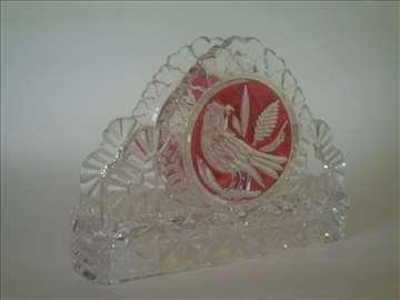 Hofbauer kristal držač za salvete