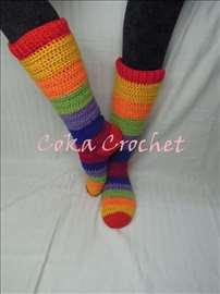 Heklane čarape - grejači
