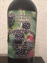 Prirodno kupinovo vino