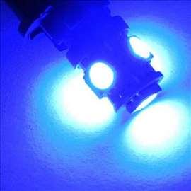 Led svetlo W5W PLAVA
